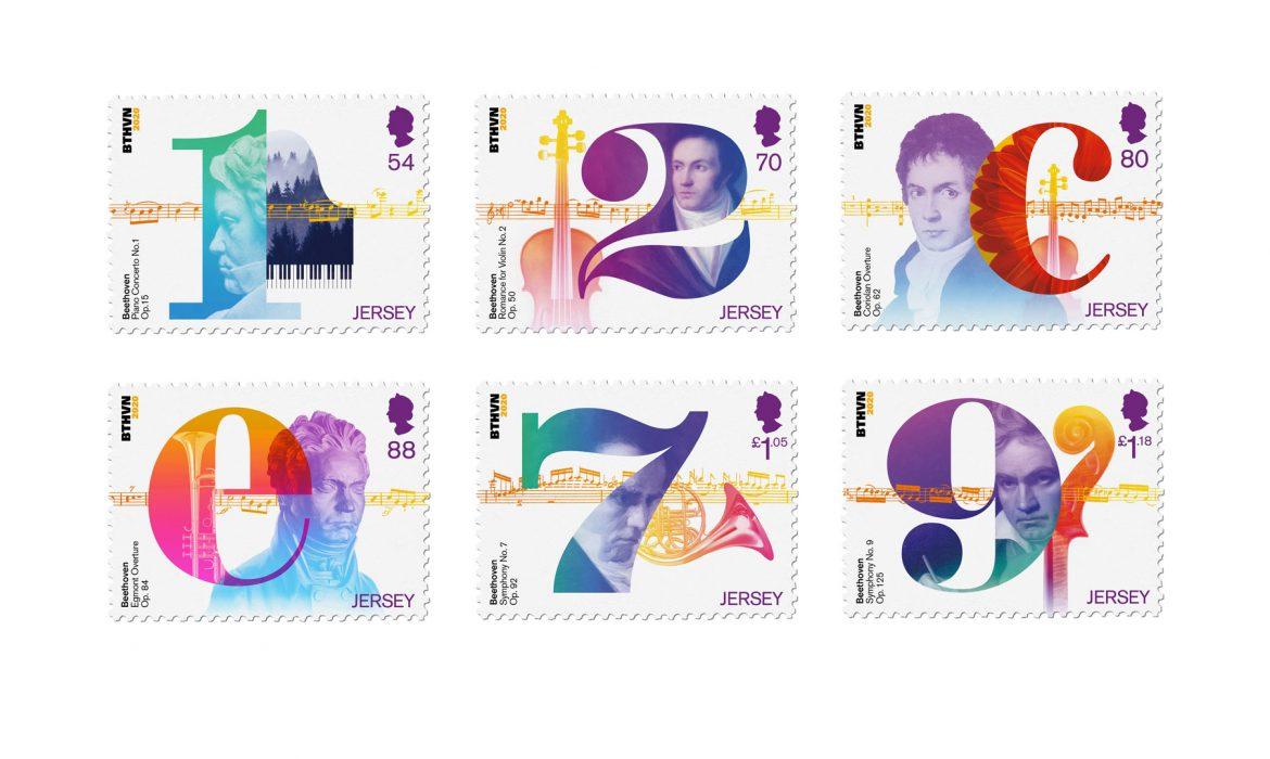 Beethoven's stamp collection