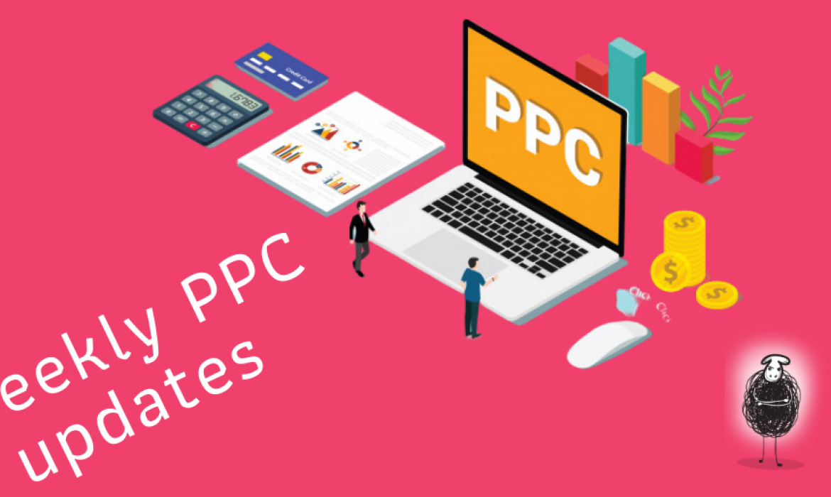 Welcome to this week's PPC News edition!