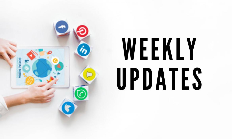 weekly updates - header